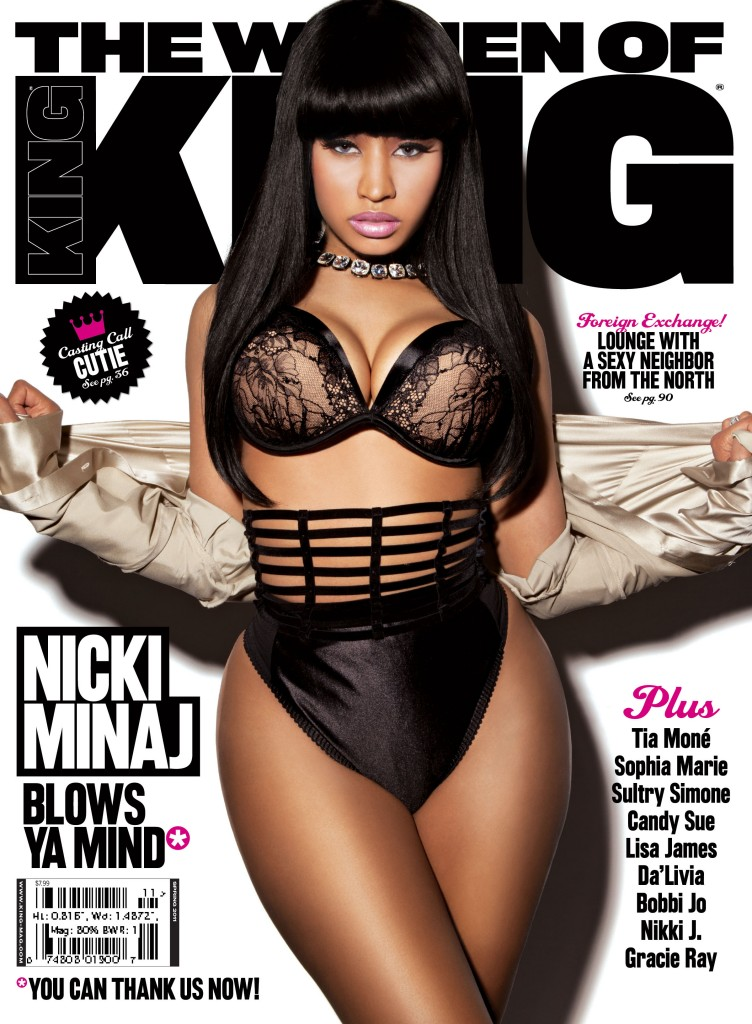Nicki Minaj on King Magazine. Well we finally have all the magazine
