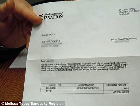 Woman Sent 200m Tax Rebate Notice And Shes Not The Only